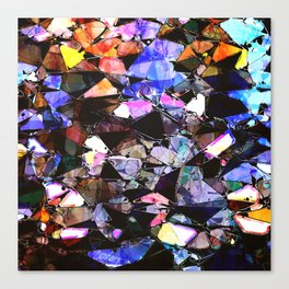 Abstract Stained Glass Canvas Print