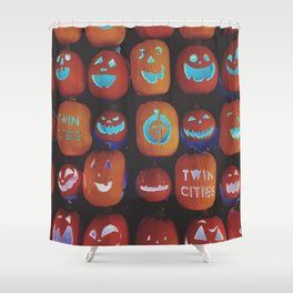 Jack O'Lanterns Shower Curtain