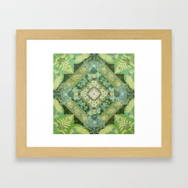 Renewal Springs from Woman Framed Art Print