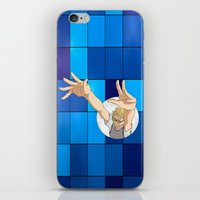 haikyuu iPhone & iPod Skins featuring Tsukishima Kei - Haikyuu!! - block by anywayimnikki
