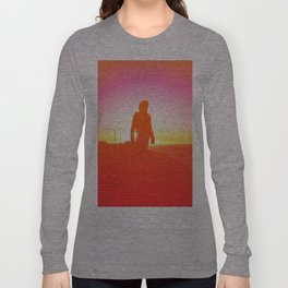 Peach Sunsets Long Sleeve T-shirt