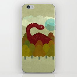 RED DINO iPhone Skin