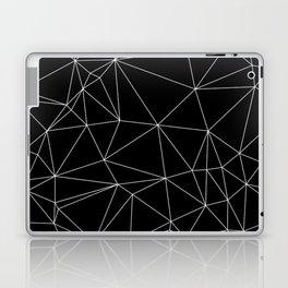 Geometric Black and White Minimalist Pattern Laptop & iPad Skin