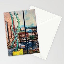 Quarantine Painting, Brooklyn NY Stationery Cards