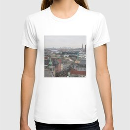 View from the Round Tower Copenhagen 2 T-shirt