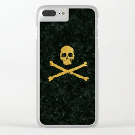 Gold Revolution Clear iPhone Case