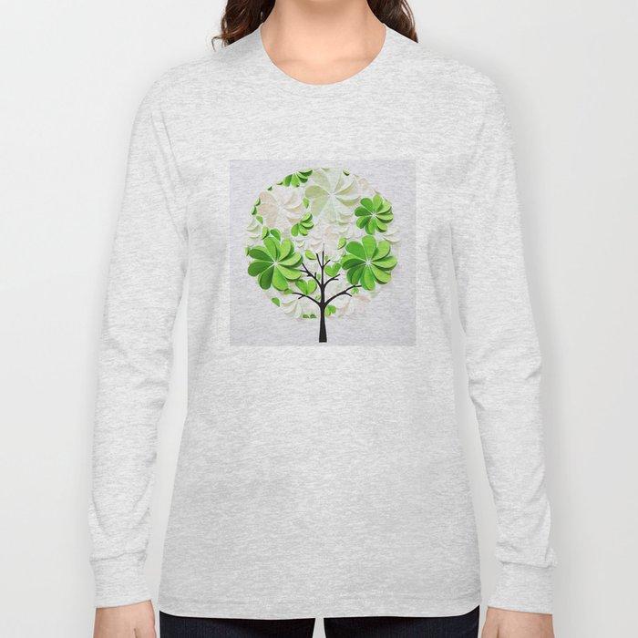 Green tree Long Sleeve T-shirt