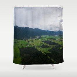 New Zealand South Island Shower Curtain