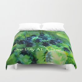 One Day At A Time . . . Duvet Cover