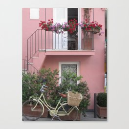 A Day in the Life - Capri, Italy Canvas Print
