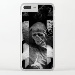 The Devil Woke In His Heart With A Thousand Vile Suggestions Clear iPhone Case