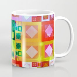 Color Geometrics Coffee Mug