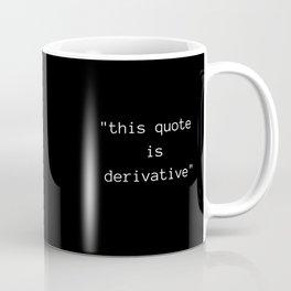 Derivative Coffee Mug