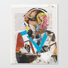 man of action - b-side Canvas Print
