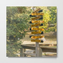 Which Way to the Armenians Metal Print