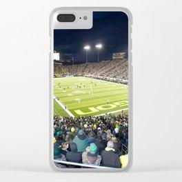 Autzen Stadium Clear iPhone Case