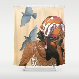 Stages of Life: Repose Shower Curtain