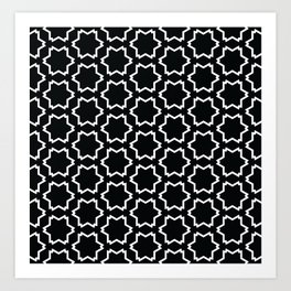 Graphic Art Pattern-P4-C4 Art Print