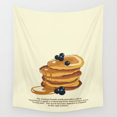 Fluffy Pancakes Wall Tapestry