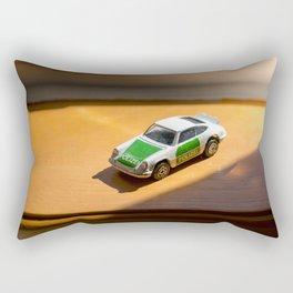 Carrera 911 Police POLIZEI english die cast car Rectangular Pillow