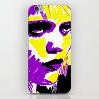 sky ferreira iPhone & iPod Skins featuring Sky Ferreira by Simon Falk