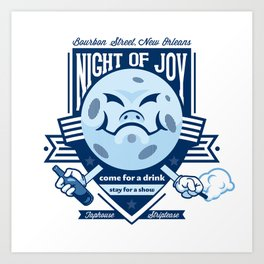 Night of Joy Art Print
