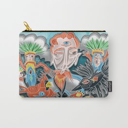 the cardinal and the crow Carry-All Pouch