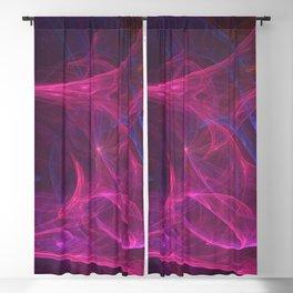 Geometric Cosmic Light 73 Blackout Curtain