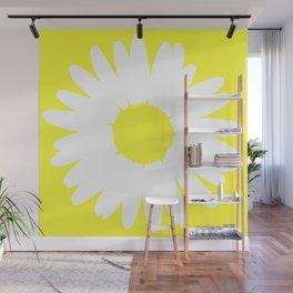 Yellow Daisy Wall Mural