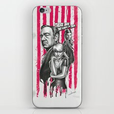 Two Kinds Of Pain - House Of Cards iPhone & iPod Skin