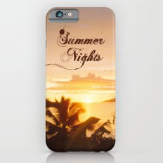 Summer Nights iPhone 6s Slim Case