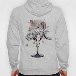 The Pitch   Collage Hoody