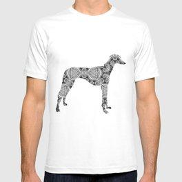 Paisley Dog No. 2 - Extra Large T-shirt