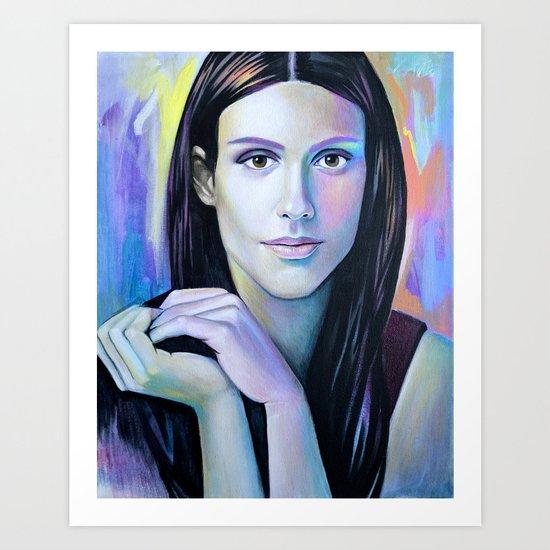 Lydia Art Print