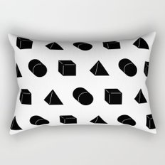 Shapes Pattern Rectangular Pillow