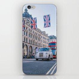 London England Street (Color) iPhone Skin