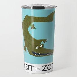 Visit the zoo Alligator Travel Mug