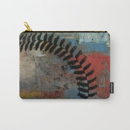 Painted Baseball Carry-All Pouch