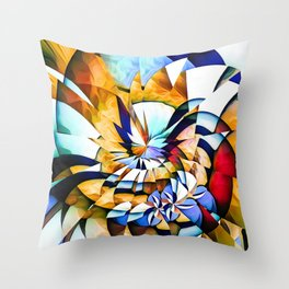 Birth Of A Butterfly Throw Pillow