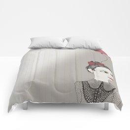 Self-Portrait Comforters