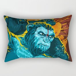Dawn Of The Planet Of The Apes Rectangular Pillow