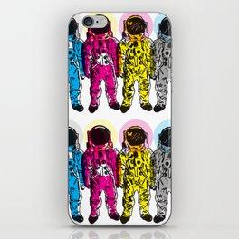 CMYK Spacemen iPhone Skin