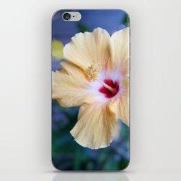 White Hibiscus iPhone Skin
