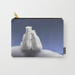 Polar Bears by Moonlight Carry-All Pouch