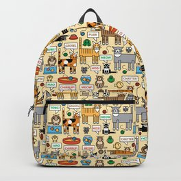 What Cats Say Backpack