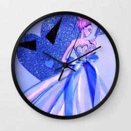 My Dreamy Valentine Wall Clock