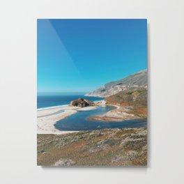 Big Sur River Metal Print