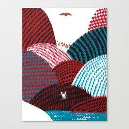 Russian Folk Tales - Tzar of the seas II Canvas Print