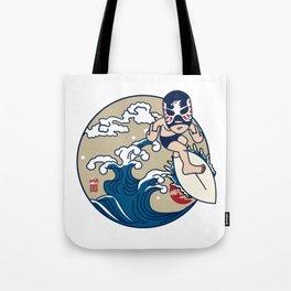 SURF LUCHADOR#2 Tote Bag