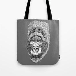 GORILLA-HEAD Tote Bag